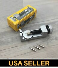 Watch Band Strap Link Pin Remover Repair Tool Kit for Watchmakers With 3 Pins US