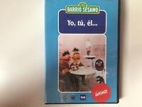 BARRIO SESAMO DVD YO , TU , EL ANIMO !!