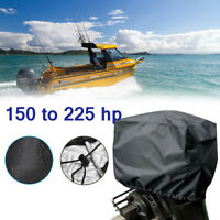 80 to 150 HP 73x40x65cm Outboard Motor Cover Boat Engine Cover 210D Waterproof