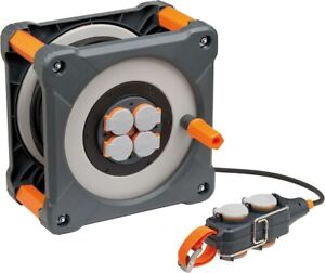 Brennenstuhl Professional Line Avvolgicavo + Powerblock IP44 50 + 5m 3G1,5