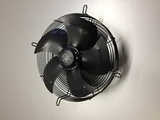 240V AXIAL FAN MOTOR ASSEMBLY, 315mm dia fan blade - SUCKER draws air over motor
