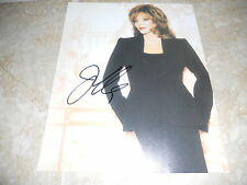 """Joan Collins Sexy Signed Autographed 7.25""""x9.25"""" Book Photo #5 PSA Guaranteed"""