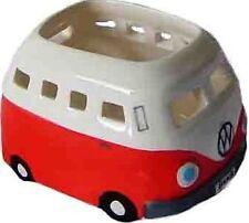 Red VW Volkswagen Kombi Camper Tealight Candle Holder