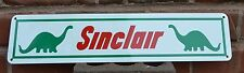 Sinclair Gas Pump SIGN Service Station Advertising Mechanic Garage Free Shipping