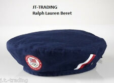 "NWT-POLO RALPH LAUREN  Olympic Team USA ""CEREMONY BERET"" HAT-CAP Unisex SZ-M"