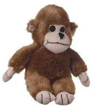 """MULTIPET LOOK WHO'S TALKING MONKEY 7"""" PLUSH SOFT DOG TOY. FREE SHIP TO THE USA"""