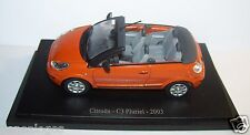 UNIVERSAL HOBBIES CITROEN C3 PLURIEL ORANGE 2003 1/43 IN BLISTER BOX