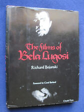 THE FILMS OF BELA LUGOSI - Inscribed by Author to Film Historian PHILIP J  RILEY