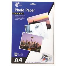 Pack De 12 A4 Mat Papier Photo Impression Couleur Images De