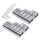 2sets 7mm 8mm Chrome Spark Plug Wire Separators Looms For Mopar Ford Chevy 9723