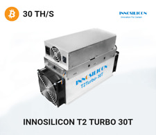 Innosilicon T2T 30Th/s BTC ASIC Antminer Machine 2200W Bitcoin Miner Include PSU