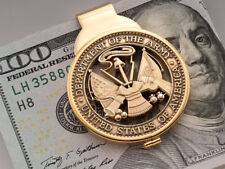 Army Challenge Coin Money Clip, Hand Cut Military Challenge Coin, ( # ABCM )