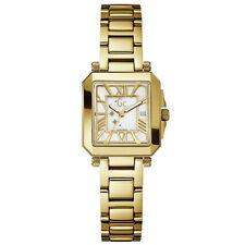 NEW AUTHENTIC GUESS COLLECTION 52004L1 GOLD TONE STAINLESS WOMAN WATCH WITH BOX