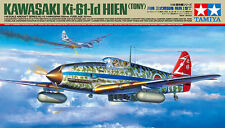 Tamiya 1/48 Kawasaki Ki-61-Id Hien Tony Japanese Fighter PLASTIC MODEL KIT 61115