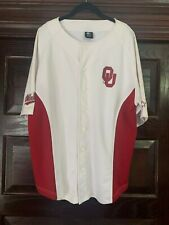 Men's Oklahoma Sooners Starter Button-Down Baseball Jersey-size Large