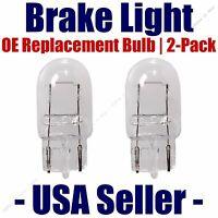 Fits Listed Volkswagen Vehicles 7506 Stop//Brake Light Bulb 2pk