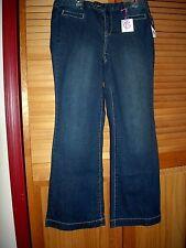 3ce52725719 Lane Bryant 14 Genius Fit Dark Wash Flare Jeans (14w 0x 1x) Trouser