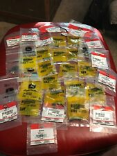 Lot of John Deere Mower Parts Bolts, Fasteners, Washers, Screws