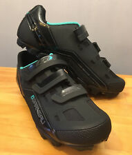 New! Louis Garneau Sapphire Women's MTB Bike Shoe Black Size 41 USA 10 HRS-80