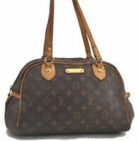 Auth Louis Vuitton Monogram Montorgueil PM Shoulder Tote Bag M95565 LV C0073
