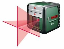 Bosch cross Line Laser Quigo with Arbeitsklemme MM2, Self-Leveling