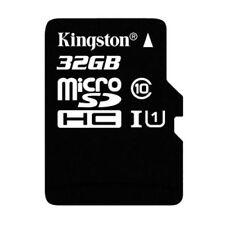 Tarjetas de memoria Kingston clase 10 para teléfonos móviles y PDAs con 32 GB de la tarjeta