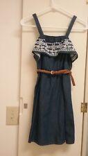 Justice Sun Jean Dress NWT size 10