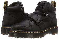 Para mujeres Zapatos Dr. Martens Zuma II Correa De Cuero Botas 25713001 Negro Virginia