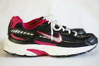 Nike Initiator Women's Running Shoes Size 9, Black and Pink Sneakers