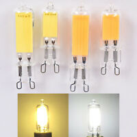 110V 220V G9 COB LED Bulbs 3W 5W Glass Crystal Light Replace Halogen Lamps YK