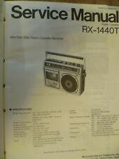 Panasonic RX-1440TE  RX-1440T  Cassette Radio  Original Service Manual
