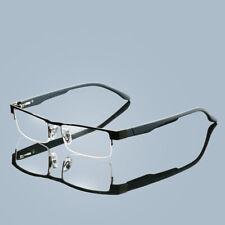 Fashion Unisex Metal Reading Glasses 12 Layer Coated Lenses Hyperopia Eyeglasses