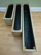 Wooden Tanalised Treated Decking Garden Patio Planter Window box