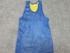 Vintage 80s 90s Jesco blue yellow basketball tank jersey shirt Mens Large L New