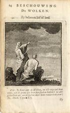 Antique Print-CLOUDS-Luiken-1725