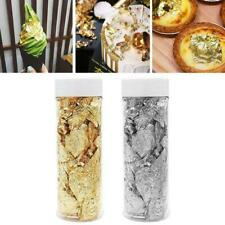 2G Edible Gold Leaf Foil DIY Cooking Food Dessert Cake Cream Decor Ice U5P1