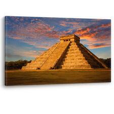 Chichen Itza México Azteca historia maya LONA pared arte Foto impresión Yucatán A0