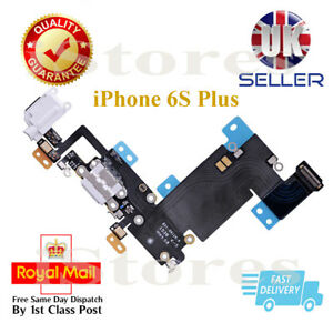 White Dock Connector Charging Port Headphone Jack Flex Cable For iPhone 6S Plus