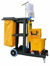 Magic 79191 Janitorial Cart Commercial Yellowgrey