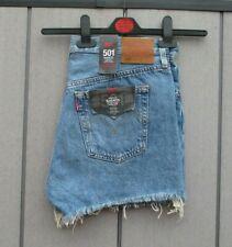 Damen Levis 501 Shorts Classic Vintage Denim Shorts verschiedene Größen NEU mit Etikett