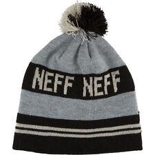 NEFF CLASSIC BEANIE GREY BLACK BASEBALL CAP FW 2016 CAP SNOWBOARD SKATE SKI