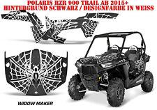 AMR Racing DECORO GRAPHIC KIT ATV POLARIS RZR 570/800/900 Widow Maker B