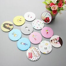 5Pc Cute Cartoon Mini Portable Circular Hand Mirror Pocket Portable Makeup Tool