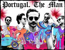 """Portugal. The Man """"Rock, Pop Music"""" Personalized T-shirts"""