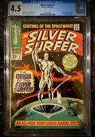 MARVEL SILVER SURFER #1 CGC 4.5 *KEY SILVER AGE ISSUE (FANTASTIC FOUR)