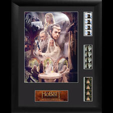 FILM CELLS The Hobbit An Unexpected Journey Triple Framed Display NEW
