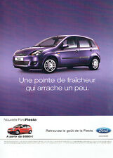 Publicité Advertising 117  2006  la Ford Fiesta  Fun 3 P
