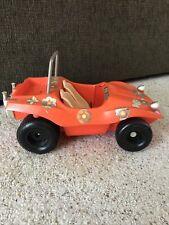 Vintage 1970 Barbie Doll Orange Sun N Fun Dune Beach Buggy Car Mattel