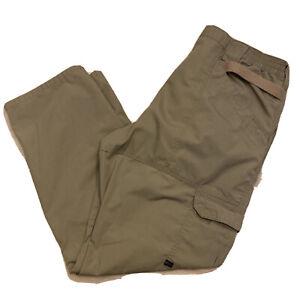 5.11 Men's 38 x 32 Tactical Series 74273 Taclite Brown Cargo Pants  511