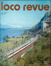LOCO REVUE N°382 Avril 77 - Maquette Train Modélisme HO Jouef Lilliput Lima Peco